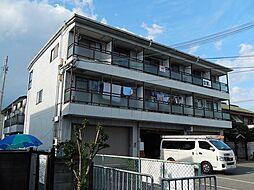 桂マンション[3階]の外観