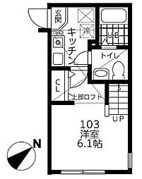 仮)シティハイツ相模ヶ丘[1階]の間取り
