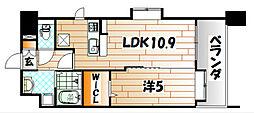 ニューサンリバー15番館[8階]の間取り