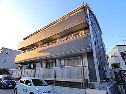 千葉県船橋市三山2丁目の賃貸アパートの外観