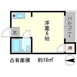 辻ハウス[2階]の間取り