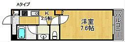 Kアビテ[1階]の間取り