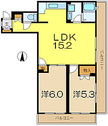 アメニティ35[2階]の間取り
