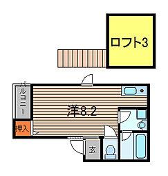 リーフレット[1階]の間取り