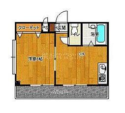 第五東和ビル[2階]の間取り