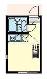 カインドハウス横浜[2階]の間取り
