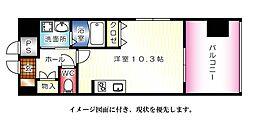 アクアシティ本川町[1101号室]の間取り