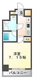 セレニテ江坂壱番館[11階]の間取り