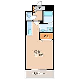 ウイング遊[2階]の間取り
