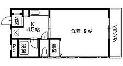 カサ・プエルト[2階]の間取り