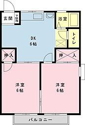千葉県浦安市今川1の賃貸アパートの間取り