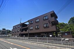 大阪府柏原市旭ケ丘2丁目の賃貸マンションの外観