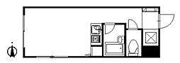 ミラージュII[1階]の間取り