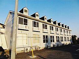 埼玉県川越市大字扇河岸の賃貸アパートの外観