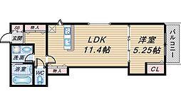 (仮称)曽根東町2丁目マンション[201号室]の間取り