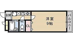 フォレスト醍醐[212号室号室]の間取り