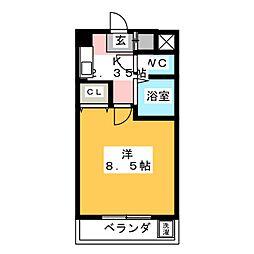 マーレア104[3階]の間取り