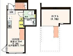 仮)滝野川3丁目IV計画[1階]の間取り