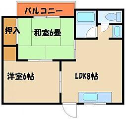 翠山荘[1階]の間取り