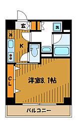 アリオーソ川崎[4階]の間取り