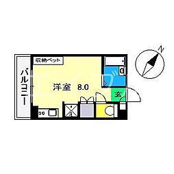 エトワール鴨部Ⅰ[1階]の間取り