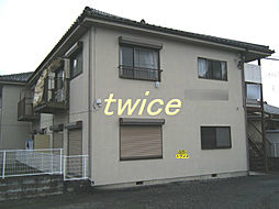 東京都青梅市師岡町2丁目の賃貸アパートの外観