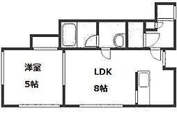 リヴァーレ[2階]の間取り