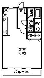 ナルシマハイツ[2階]の間取り