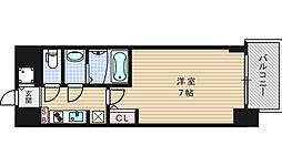 S-RESIDENCE難波Briller[13階]の間取り