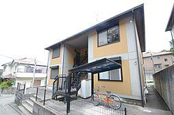 兵庫県宝塚市紅葉ガ丘の賃貸アパートの外観