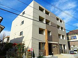 東京都羽村市小作台3丁目の賃貸マンションの外観
