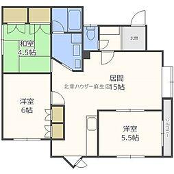 メゾン慶新エイト[1階]の間取り