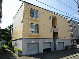 北海道札幌市東区北十九条東6丁目の賃貸アパートの外観