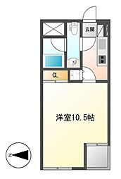 Comfort大曽根[2階]の間取り