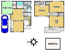 信貴山口駅 1,480万円