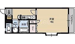 プレジール鶴見[1階]の間取り