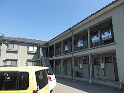 新潟県新潟市西区五十嵐3の町東の賃貸アパートの外観