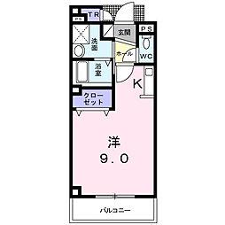 ファミール[3階]の間取り