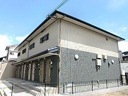 京都府京都市上京区馬喰町の賃貸アパートの外観