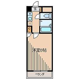 MKビル[4階]の間取り