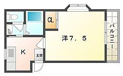 ファミーユイシハラ[1階]の間取り