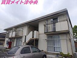 三重県津市柳山津興の賃貸アパートの外観