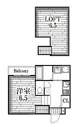 コンフォルタ杉村[1階]の間取り