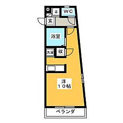 Be−House[3階]の間取り
