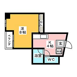 GINZA SPACE ONE[3階]の間取り