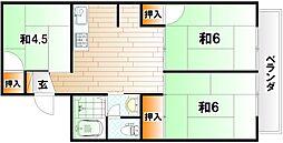 セジュールトヨダ[1階]の間取り