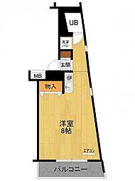 ジュネス武庫之荘[2階]の間取り