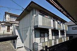 大阪府枚方市香里園山之手町の賃貸アパートの外観