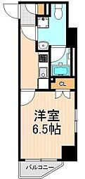 シーフォルム入谷[4階]の間取り