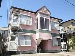 新潟県新潟市中央区弁天橋通2丁目の賃貸アパートの外観